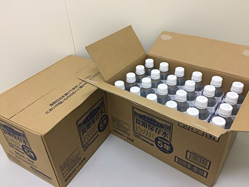 『【Amazon.co.jp限定】友桝飲料 長期保存水 500ml(5年保存水)×24本』のトップ画像