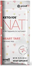 Pruvit Keto//OS NAT Caffeine Free, BHB Salts Ketogenic Supplement - Beta Hydroxybutyrates Exogenous Ketones for Fat Loss, Workout Energy Boost Through Fast Ketosis. 20 Sachets (Heart Tart)