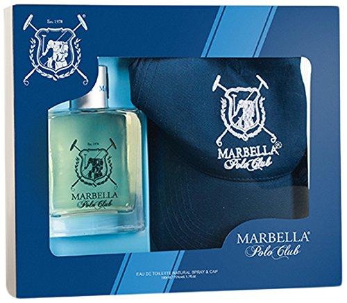 Guylond Marbella Polo Club Eau de Toilette and Cap, 1er Pack (1 x 100 ml)