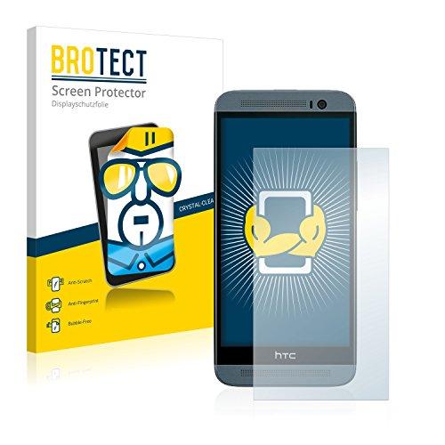 BROTECT Schutzfolie kompatibel mit HTC One E8 (2 Stück) klare Bildschirmschutz-Folie
