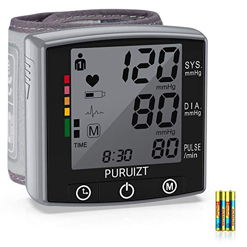 Great Features Of Wrist Blood Pressure Monitor, Puruizt Accurate Automatic Digital Blood Pressure Ma...