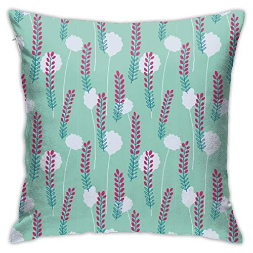 asdew987 Heather On The Moors M Cushion Cover Decorative Throw Pillow Case Covers Square Pillowcase for Home Sofa Couch Bed Living Room Car Decor 45 * 45cm
