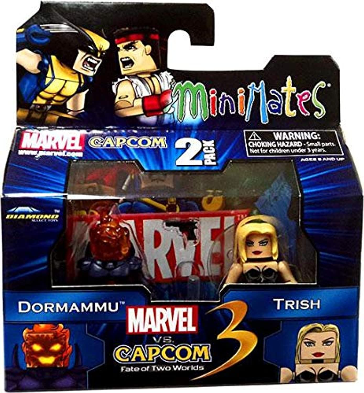 Toy Zany Marvel vs Capcom 3 Minimates Series 1 Mini Figure 2Pack Trish Vs. Dormammu