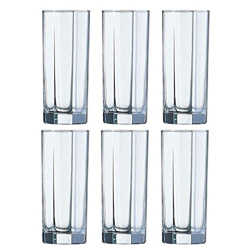 6 Bicchieri alti Long Drink Bicchieri Octime Nuovo & In Confezione Originale