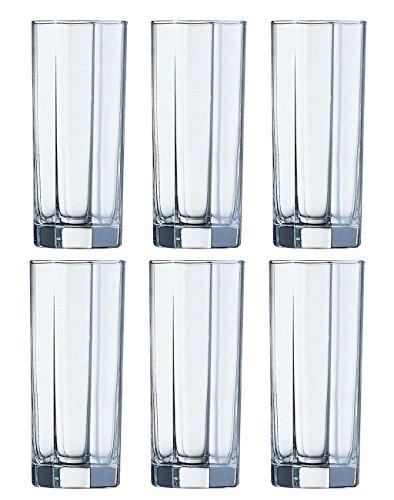 Luminarc 6 hohe Gläser Longdrinkgläser OCTIME NEU&OVP