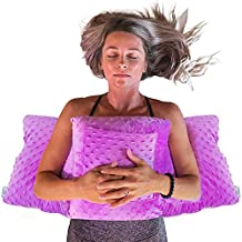 Mastectomy Post Surgery Pillow for Breast Cancer Surgery - Healing Support for Port Pacemaker, C-Section and Heart Surgery Recovery - Lumpectomy Chest Protector Pillow (Lavender)