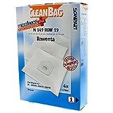 CleanBag M 149 ROW 19 - Bolsas para aspiradora (4 unidades, 1 filtro universal,...