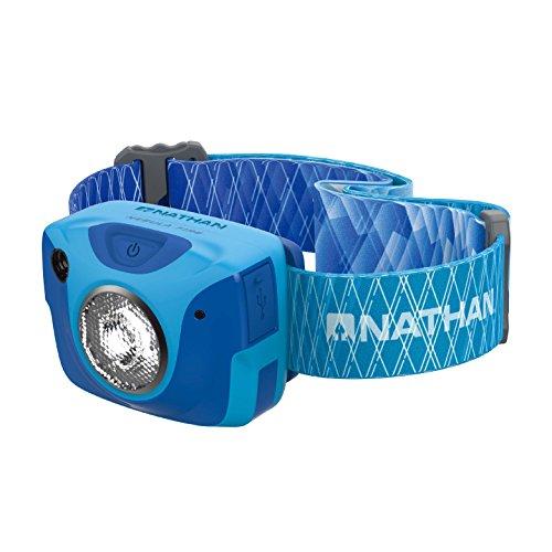 Nathan Nebula Fire Runner Lampe Frontale Bleu Atomic Gris
