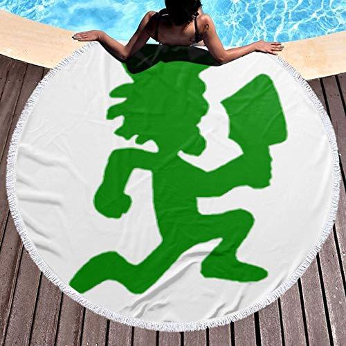H-atchetman - Toalla de playa, ligera, resistente al cloro, tela de toalla perfecta para tumbonas, toallas de baño, playa, gimnasio