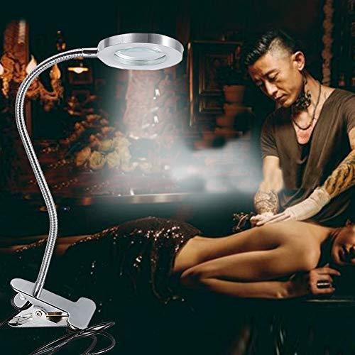 Lámpara de belleza, lámpara de lectura, lámpara de tatuaje, para mesa, escritorio, lectura, hogar