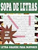 Sopa de letras LETRA GRANDE PARA MAYORES: Volumen 2. Sopa de letras para...