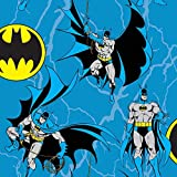 Craft Cotton Co DC Comics Batman-Seil Quilting Stoff pro