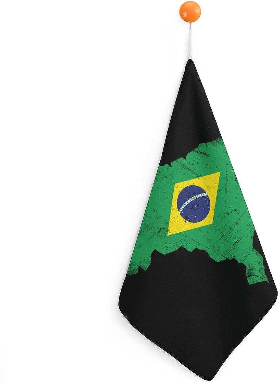 Brazilian Flag Gift Brazil Hand Bathroom Towels Special Fashionable sale item Soft