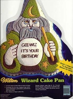 Wilton Wizard Sorceror Cake Pan (2105-2633, 1984) Harry Potter Dumbledore