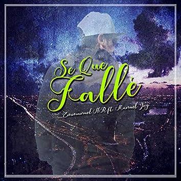 Se Que Fallé (feat. Manuel Jey)