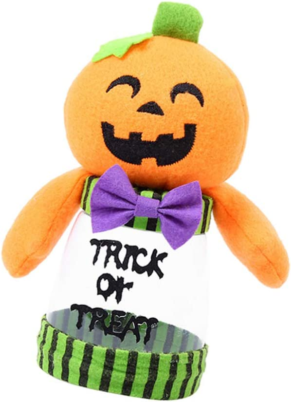 ABOOFAN Reservation Halloween Candy Jar Pumpkin Jars Cookie Decoration Today's only Party