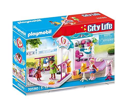 PLAYMOBIL City Life 70590 Estudio Diseño de Moda, Para niños de 5 a 12 años