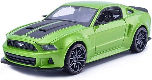 tiendas minoristas ZEQUAN ZEQUAN ZEQUAN Coches Modelo Fundido a Troquel, 1 24 fundición a presión Modelo de Coche Ford Mustang simulación de aleación de Juguete Modelo de Moda Modelo de colección ( Color   verde )  las mejores marcas venden barato