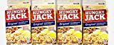 Hungry Jack Original Hashbrowns 4.2oz Pack of 4 Made With 100% Real Potatoes Ready In Minutes Plus BONUS Exclusive Falana-Stam Cheesy Sauce Bundle includes: 4-4.2 oz Cartons of Hungry Jack Original Hashbrowns plus ONE (1) EXCLUSIVE pack of Cheesy Sau...
