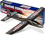 Airplane Toy Foam Glider Plane for Kids: Best Outdoor Toys for Boys & Girls All Ages. Safe & Fun Flying Gliders Easy Throwing Styrofoam Air Planes. Great Gifts for Age 4 5 6 7 8 9 10 11 12 Year Olds