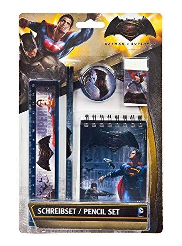 Schreib Set 5 teilig Batman vs. Superman