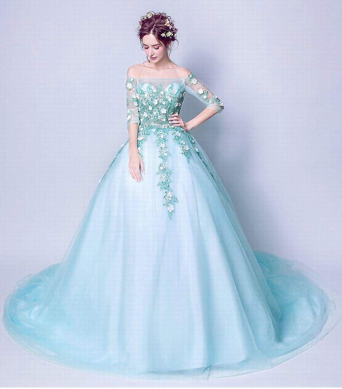 YT-RE Red Perspective Halter Dress Hip Mermaid Dress V-Neck Sleeveless Petal Beaded Wedding Dress, White, XXL