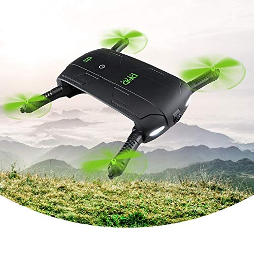 Yoton Accessories DHD D5 Selfie Drone with Camera Foldable Pocket Rc Drones Phone Control RC Helicopter FPV Quadcopter Mini Aircraft for Best Gift