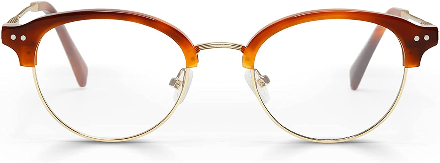 Dial-Up Premium Readers for Women and Men | Round Eye Glasses