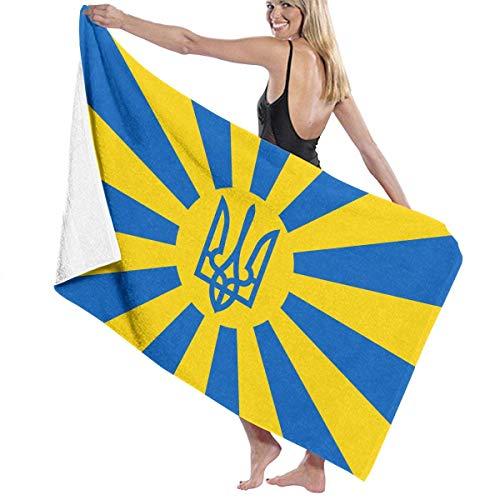 Leo-Shop Toalla de baño ucraniana Sábanas de baño Envoltura de baño Toalla de Playa Chal Albornoz Toallas con Capucha Toallas
