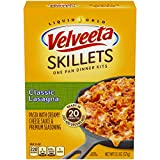 Velveeta Kraft Cheesy Skillets Dinner Kit Box, Lasagna, 13.1 Ounce