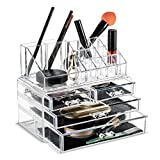 Makeup Cosmetics Organizer with drawers