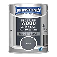 Perfectly prepares and enhances the quality of Johnstone's Hardwearing Satin and Gloss products. Dry time: 16-24 hours Coverage: 13m2 (per tin). Hardwearing Undercoat