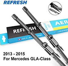 Occus Wipers OCS Wiper Blades for Mercedes Benz GLA Class x156 Fit Pinch Tab Arms GLA 180 200 220 250 45 AMG CDI 4Matic - (Item Length: Front and Rear Wiper, Color: 2013-2015)