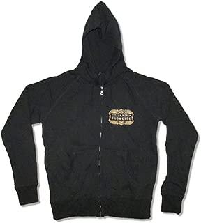 Lionel Richie Men's Tuskegee Zippered Hooded Sweatshirt Black
