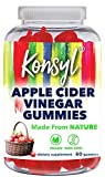 Konsyl Apple Cider Vinegar Gummies | Supports Immunity & Detox+ - Vegan, Non-GMO Dietary Supplement 60ct
