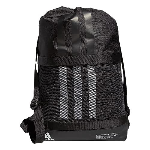 adidas Amplifier II Blocked Sackpack, Black/White, One Size