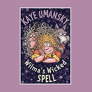 Wilma's Wicked Spell audiobook cover art