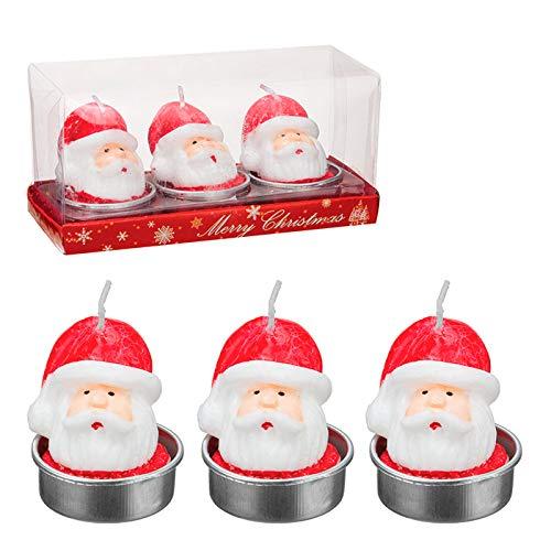 Vela Papai Noel 3D - Art Christmas