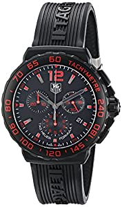 TAG Heuer Men's CAU111D.FT6024 Formula 1 Analog Display Quartz Black Watch image