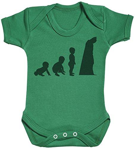 Baby Evolution to A Bat Man Body bébé - Gilet bébé - Body bébé Ensemble-Cadeau - Naissance Vert