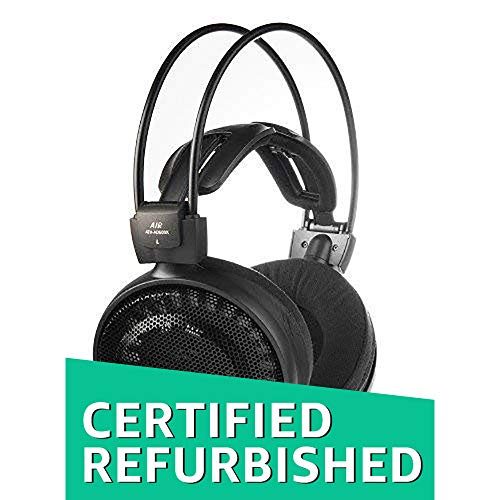 Audio-Technica ATH-AD500X Audiophile Open-Air Headphones, Black (AUD ATHAD500X) (Renewed)