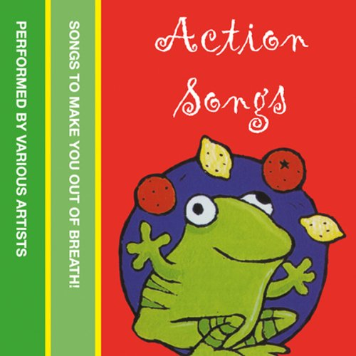 Action Songs audiobook cover art