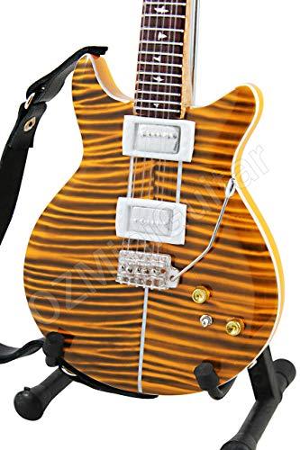 Carlos Santana PRS Tiger Eye - Guitarra en Miniatura