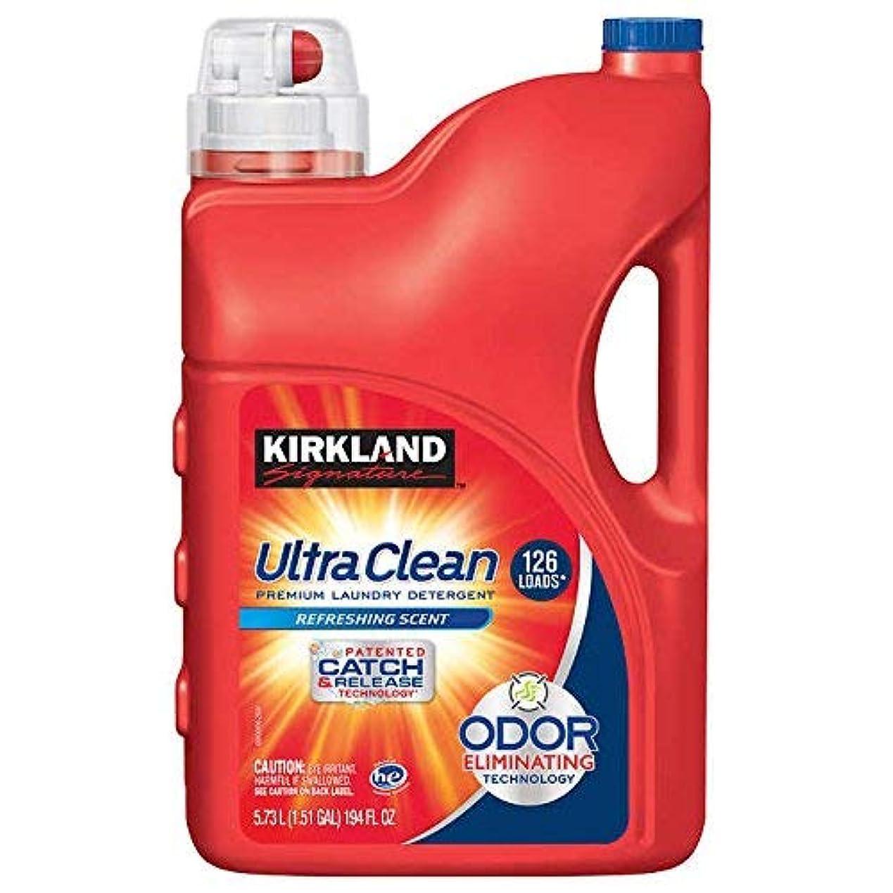 終わった緯度シミュレートするカークランド Kirkland ウルトラ液体洗濯洗剤(洗濯用合成洗剤) 5.73L