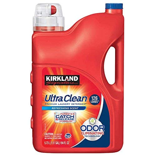 Krikland Signature Ultra Clean Premium Laundry Detergent with 2X Concentrate