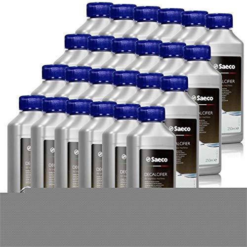 Saeco Entkalker Konzentrat für Kaffeemaschine, Espressomaschine,250ml, 24er Pack