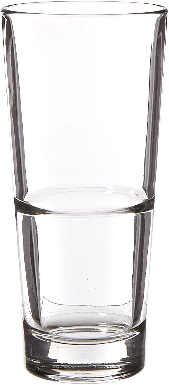 Libbey Glassware 15715 Endeavor Cooler Duratuff Glass, 16 oz. (Pack of 12)