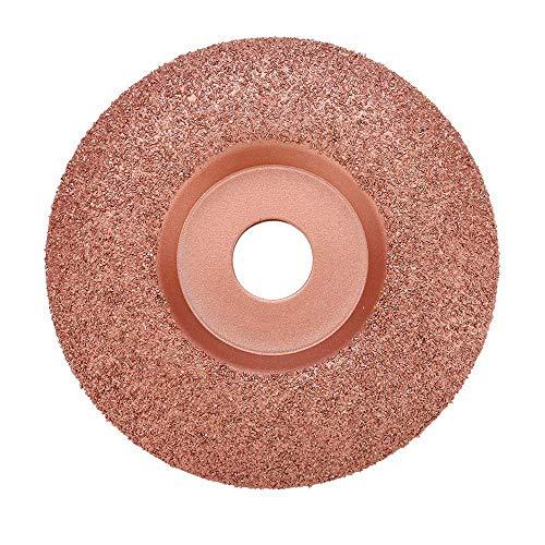 Lopbinte 125Mm Durchmesser 22Mm Bohrung Holzschnitzerei Scheibe Winkelschleifer 125 mm Scheibe Hartmetall Form Schale Holz Form Scheibe (30 K?Rnung)