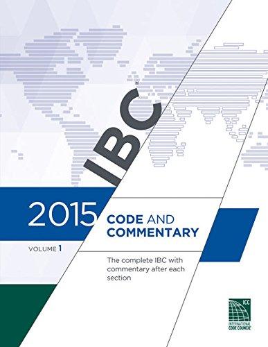 2015 International Building Code Commentary, Volume 1
