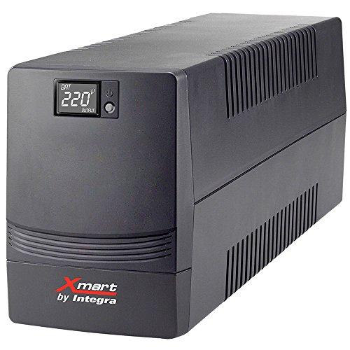 Xmart by Integra SAI-SUPRA-2101 - Sistema de alimentación ininterrumpida, Color Negro